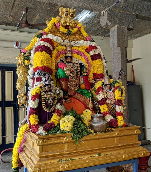 ஸ்ரீ கோதண்டராமர் கோயில், மேற்கு மாம்பலம், சென்னை - 600 033.
