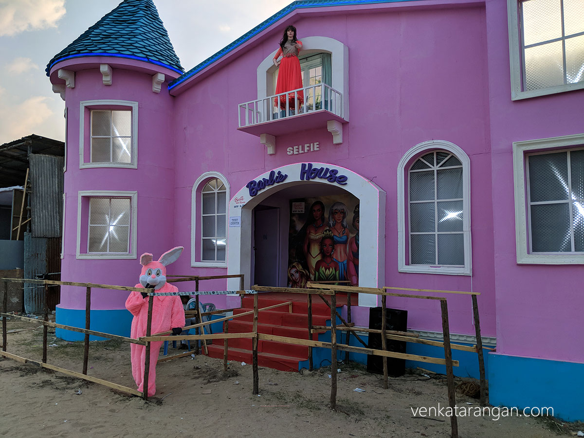 Affordable version of Barbie House