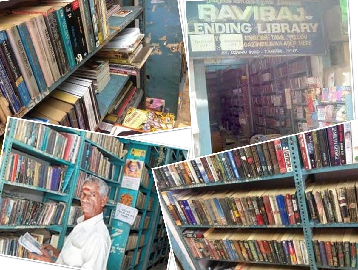 Raviraj Lending Library, T.Nagar (Picture Courtesy: Justdial)
