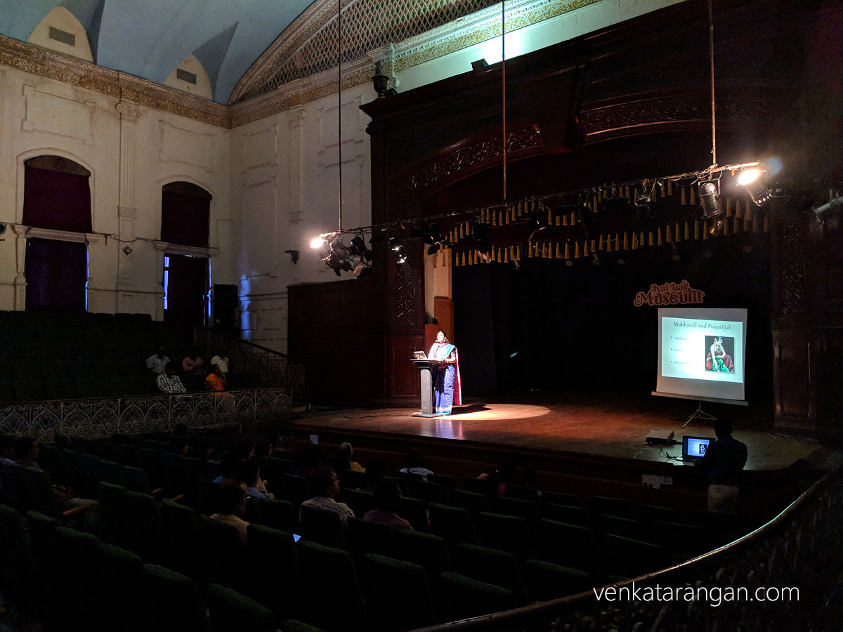 Dr Swanamalya Ganesh's Talk for Iyal Isai Museum