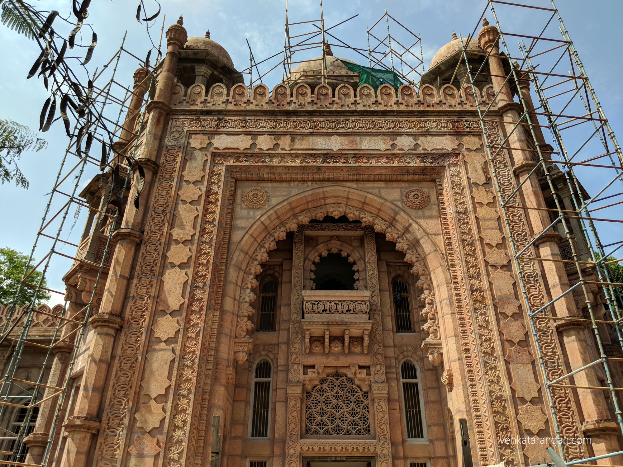 National Gallery, Egmore Museum being repaired after decades. The foundation stone was laid by the Prince of Wales in 1905
