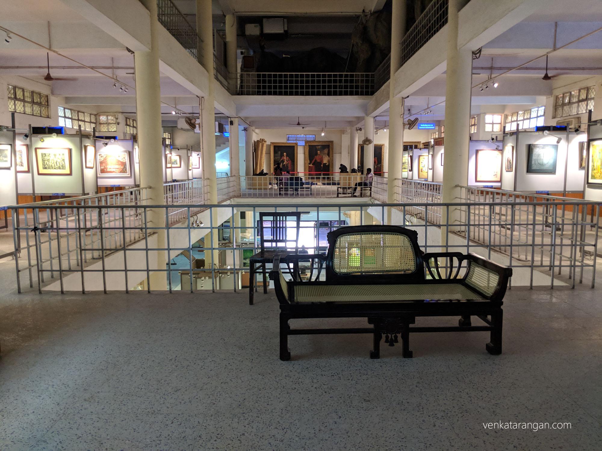 Art gallery - Egmore Museum, Chennai