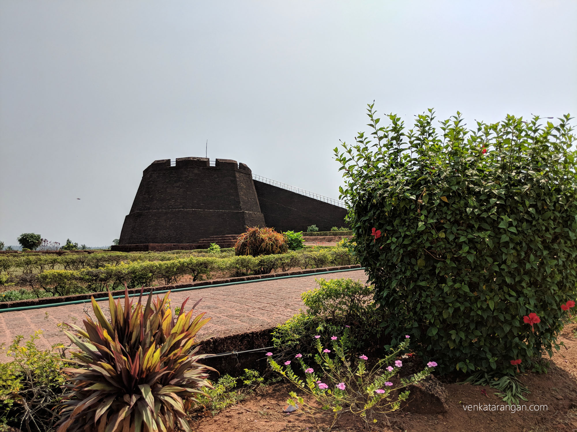 Watchtowers in Bekal Fort