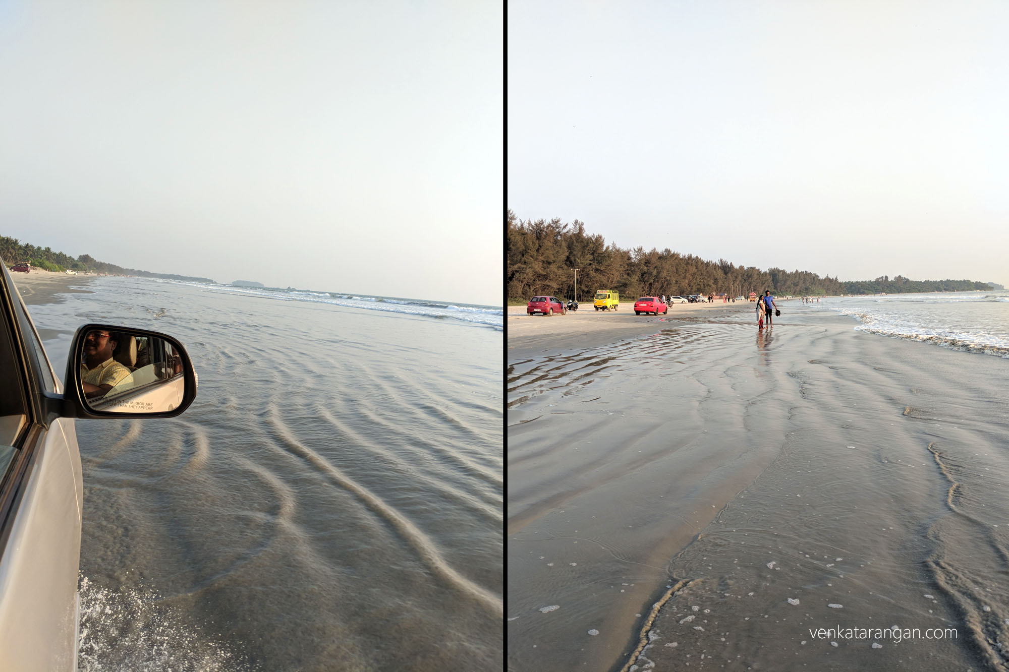 India's only drive-in beach - Muzhappilangad Beach near Kannur