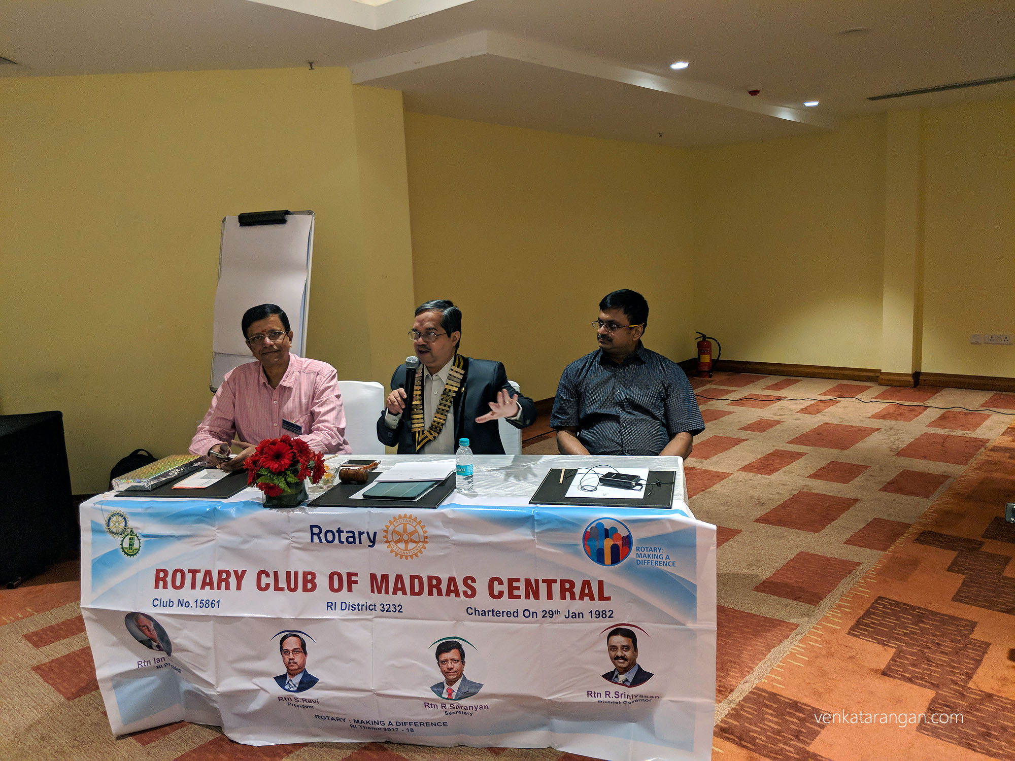 Rotary Club of Madras, Central