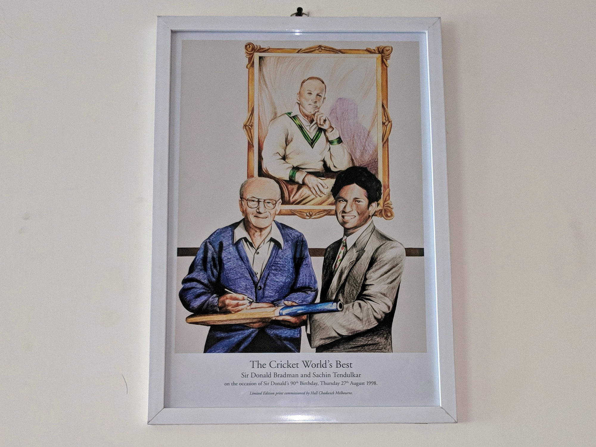 Sir Donald Bradman and Sachin Tendulkar