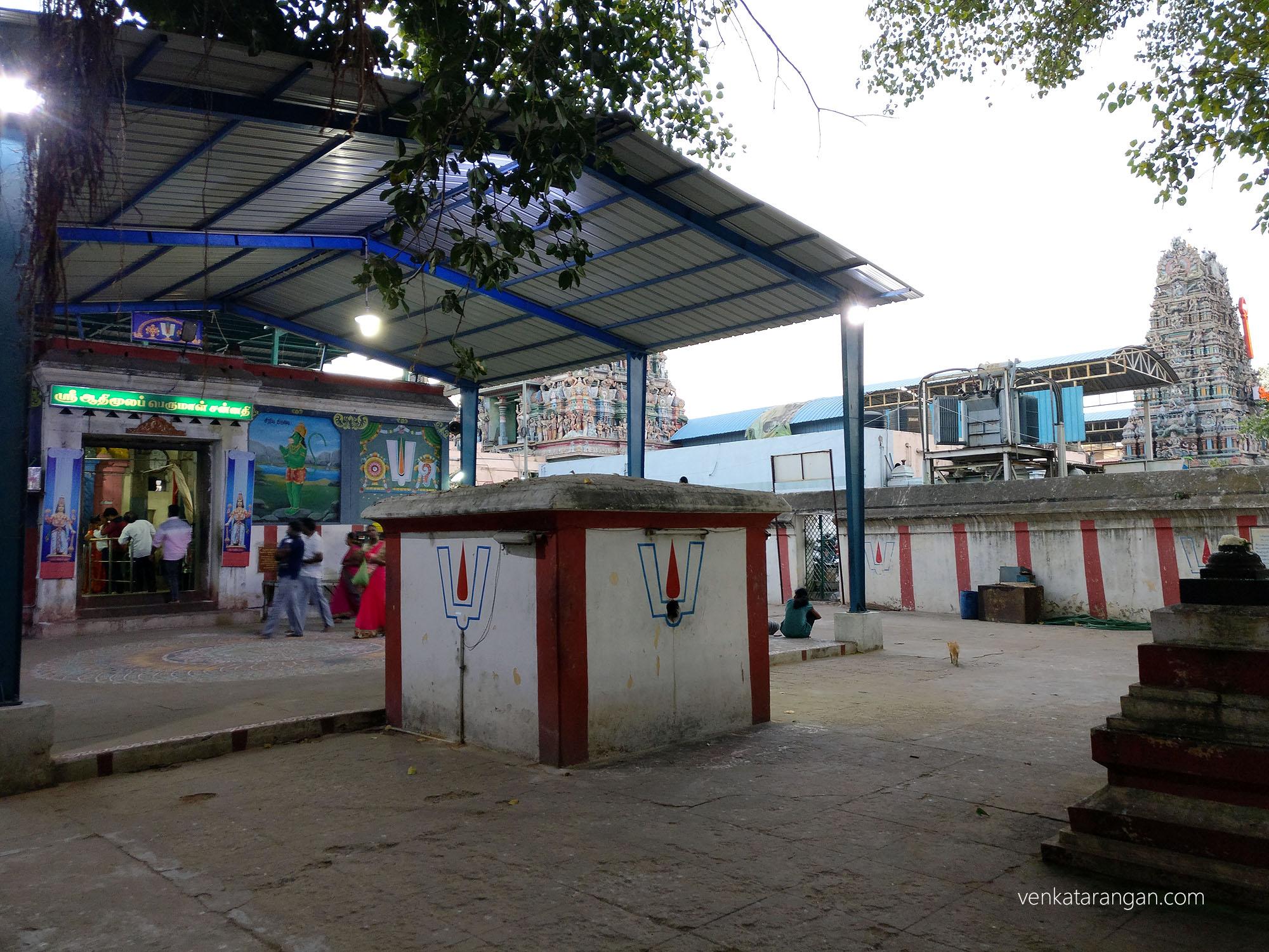 ஸ்ரீ ஆதிமூலப் பெருமாள் சன்னதி