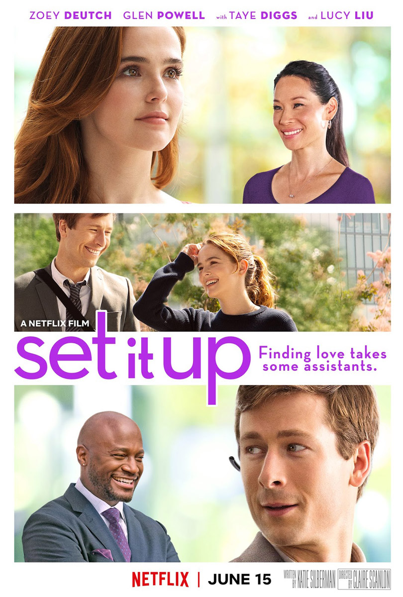 Zoey Deutch, Lucy Liu, Taye Diggs & Glen Powell - Set it Up (2018)