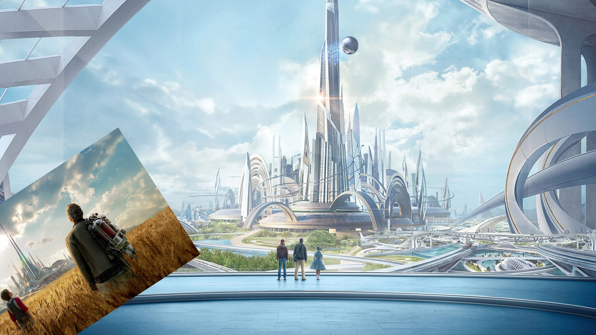 Tomorrowland, Directed by Brad Bird