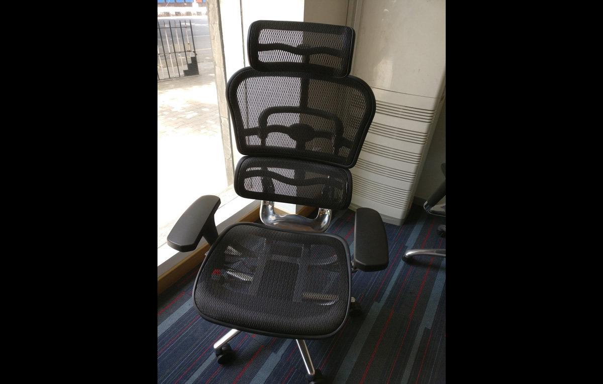 Mesh chair from Featherlite