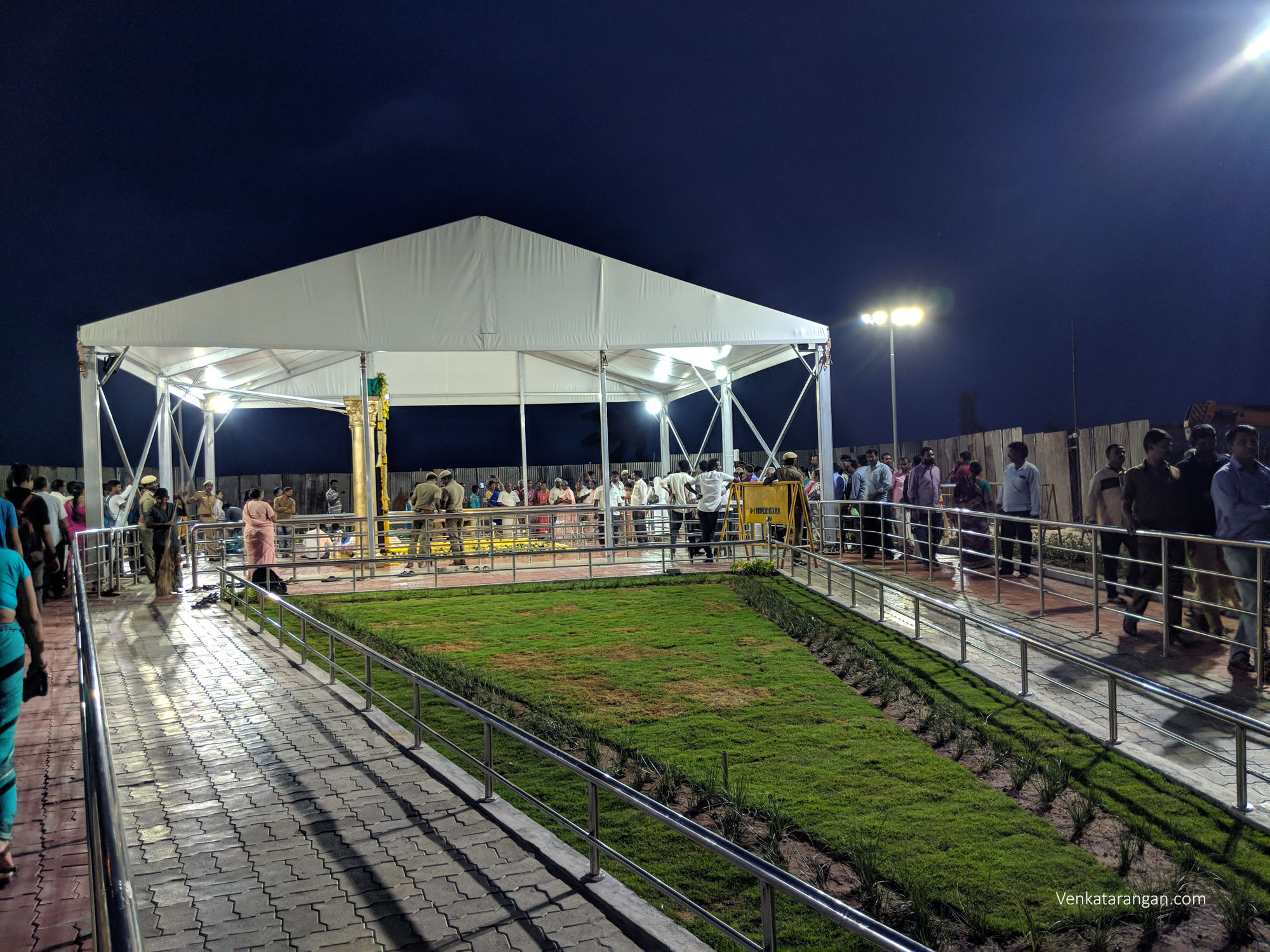 View of Kalaignar Memorial