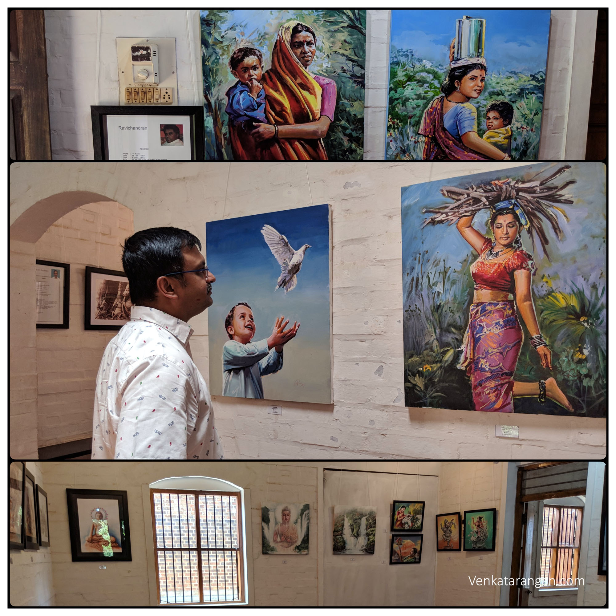 Paintings on Chennai - the ladies in the city are smart, hard-working and stunning