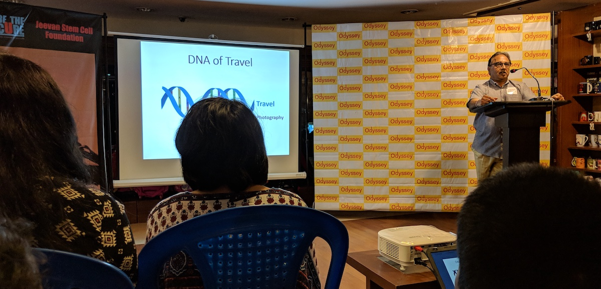 DNA of Travel - Dr Srinivasan Periathiruvadi