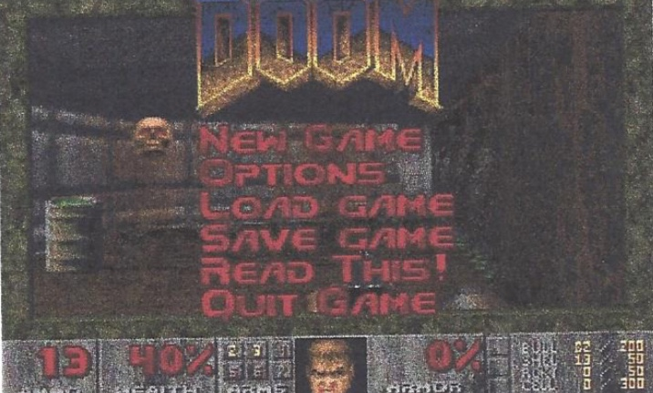 Doom (1993) Game: How First Person Perspective works?