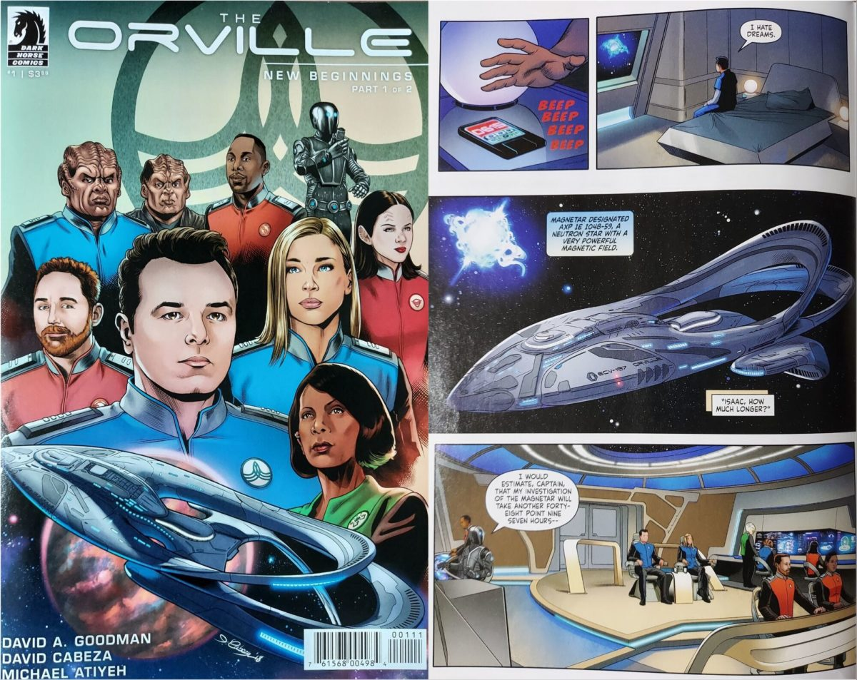 The Orville New Beginning Comic - Part 1 of 2