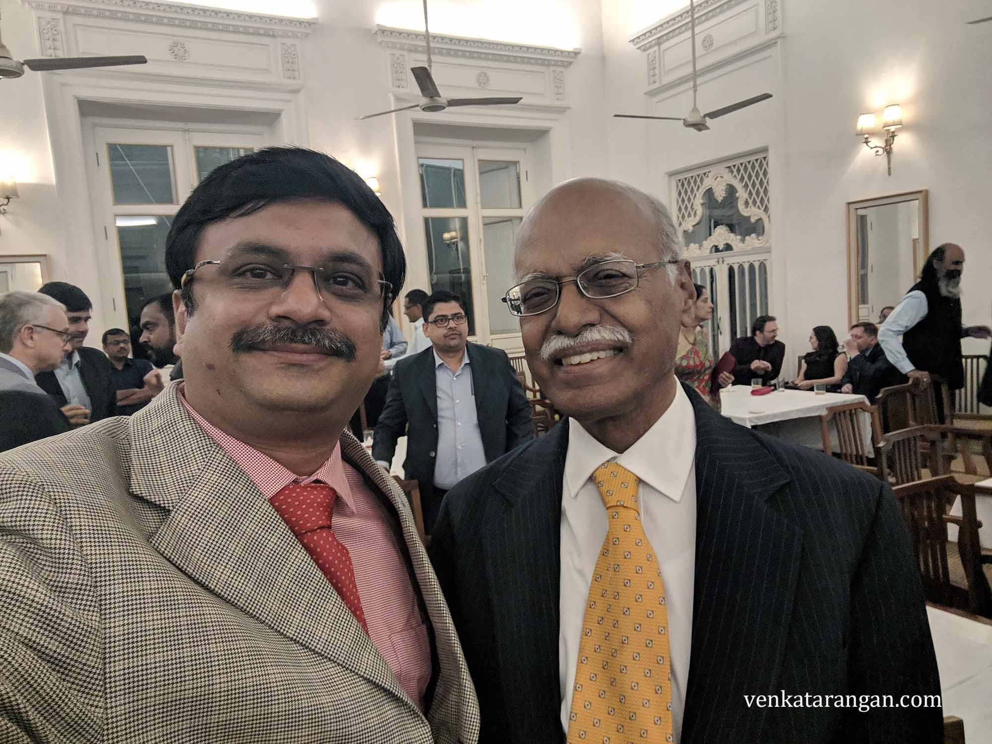 Mr Krishnan Ramasamy (Chemical Industry Veteran, Tamil Researcher and Former SPIC Executive)