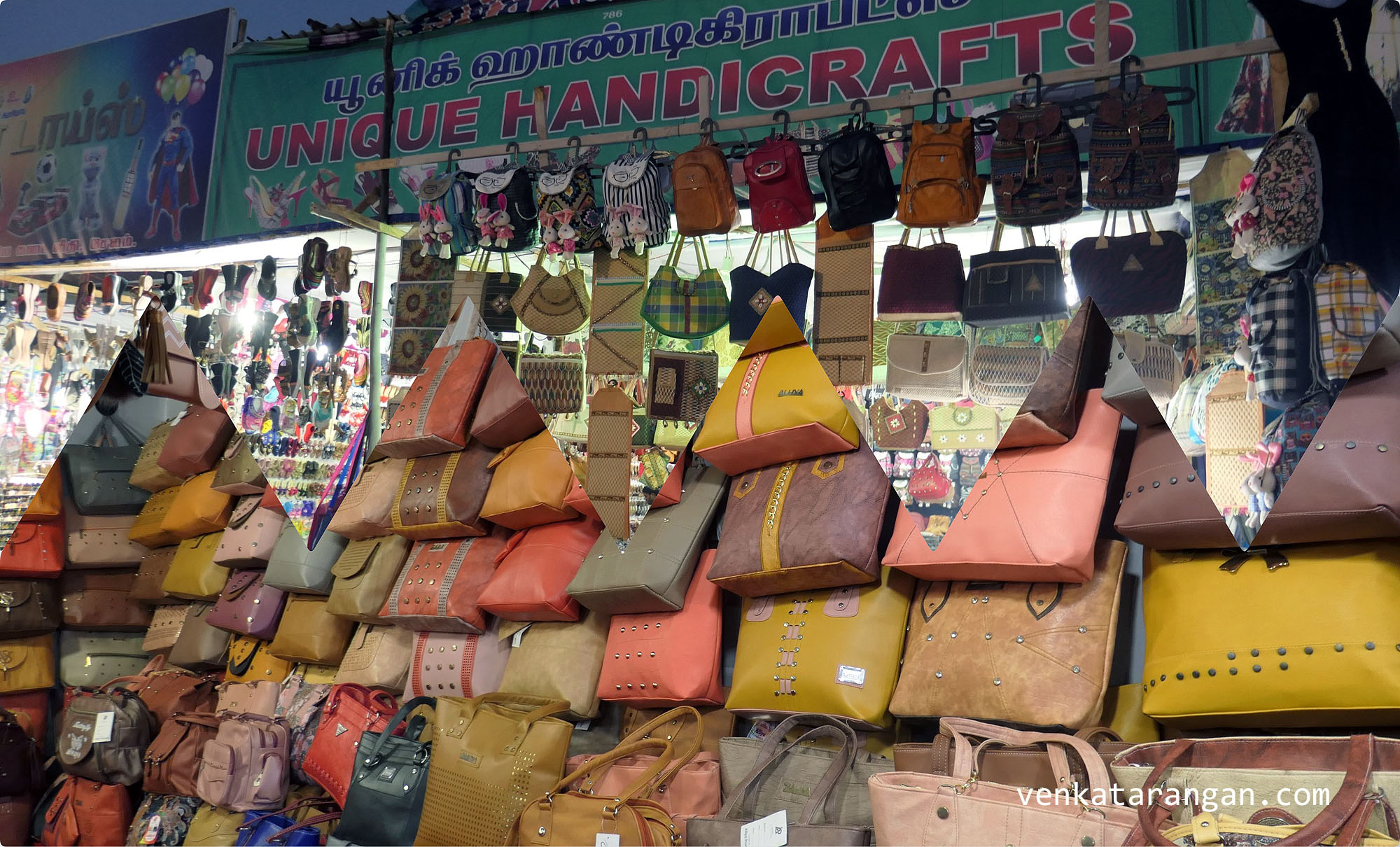 Bags, bags and more bags - Ladies Handbags - மகளிர் கைப்பைகள்