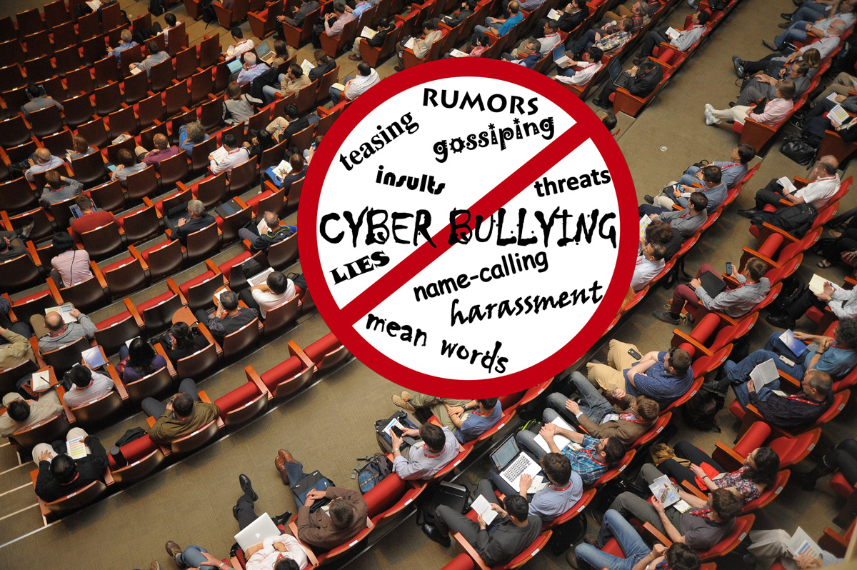 No harassment or bullying in events