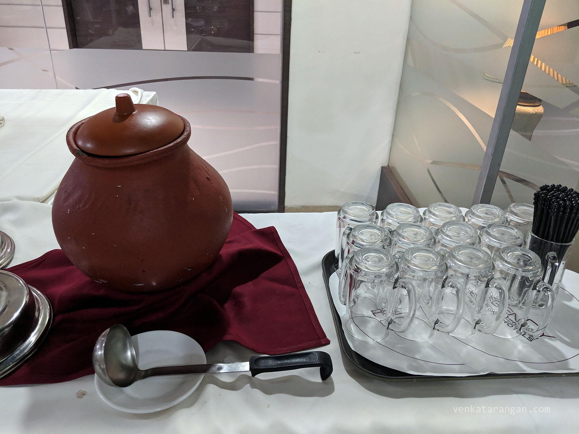 Ragi porridge / கேழ்வரகு கூழ்