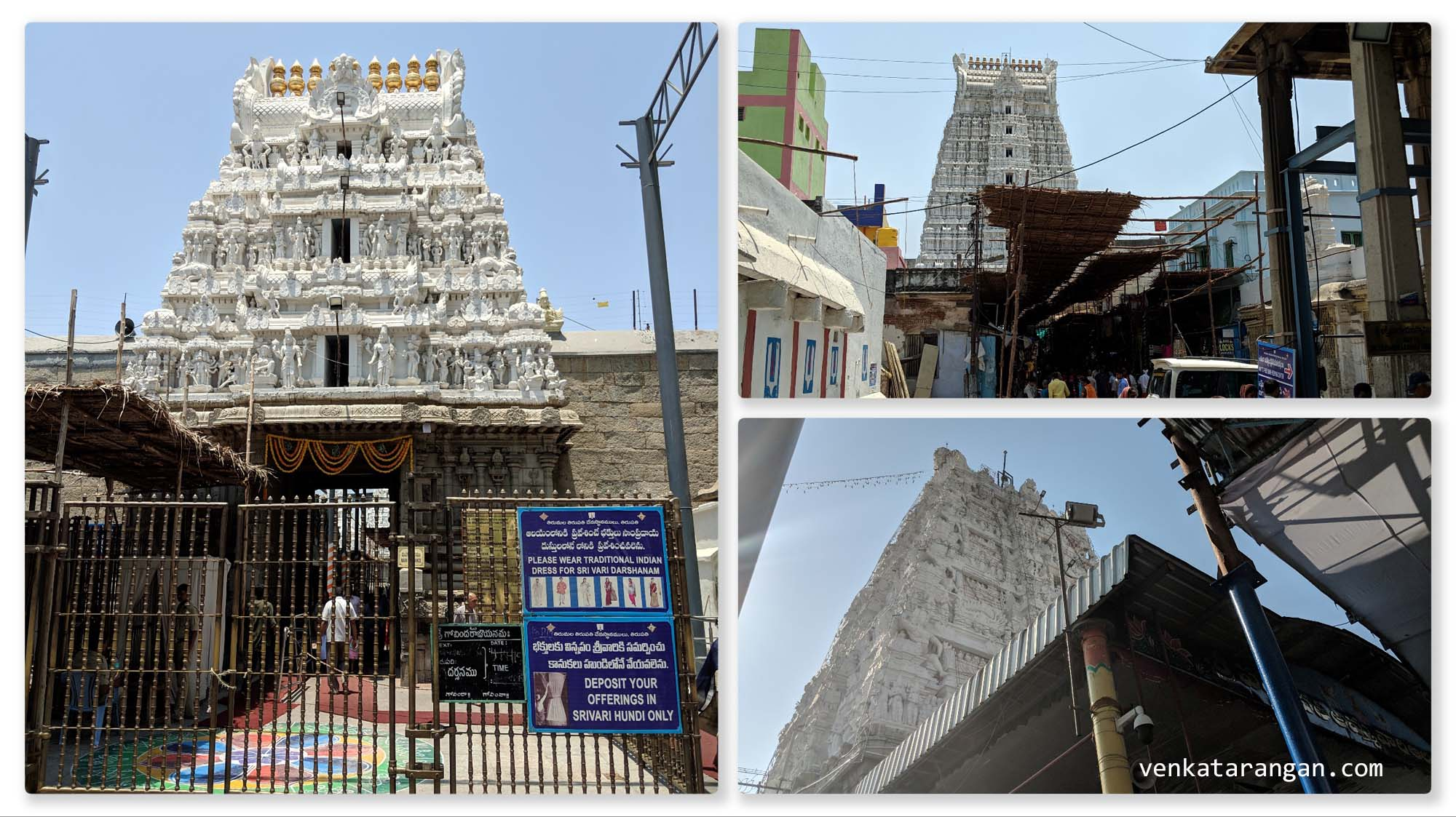 Temples in Tirupati City