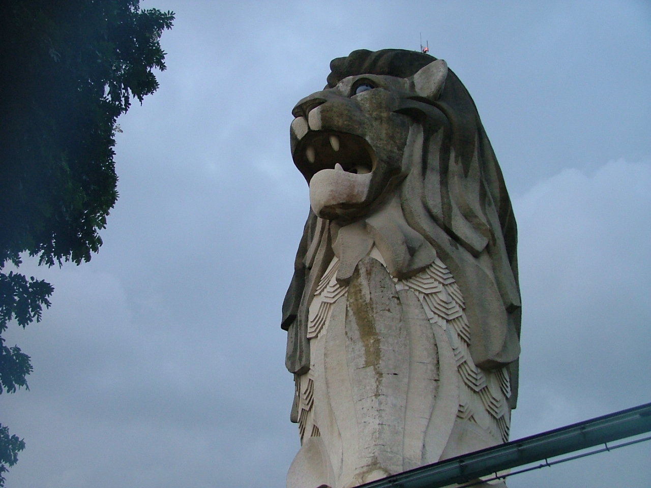 The story of Singapura used to be on display here - Sentosa in 2004