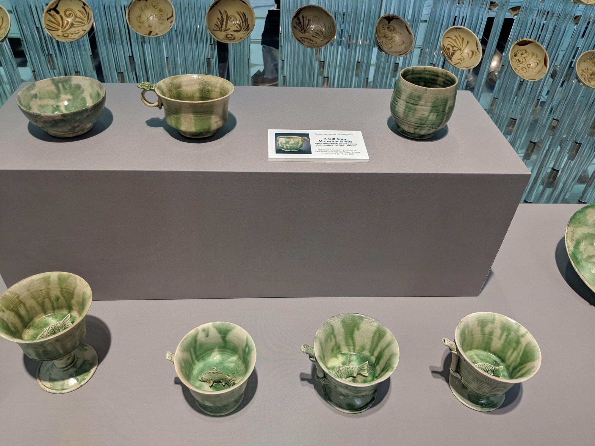 Breathtaking green colour ceramics from the Tang Shipwreck collection