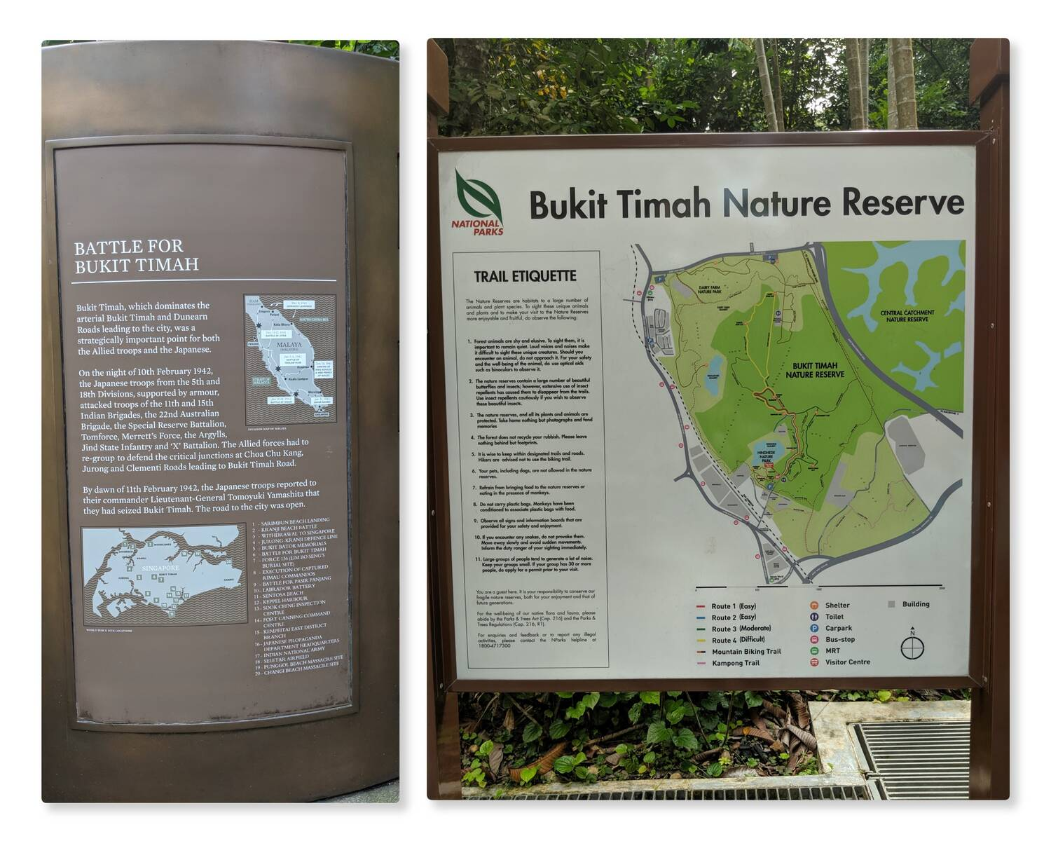 The Map and the Battle for Bukit Timah