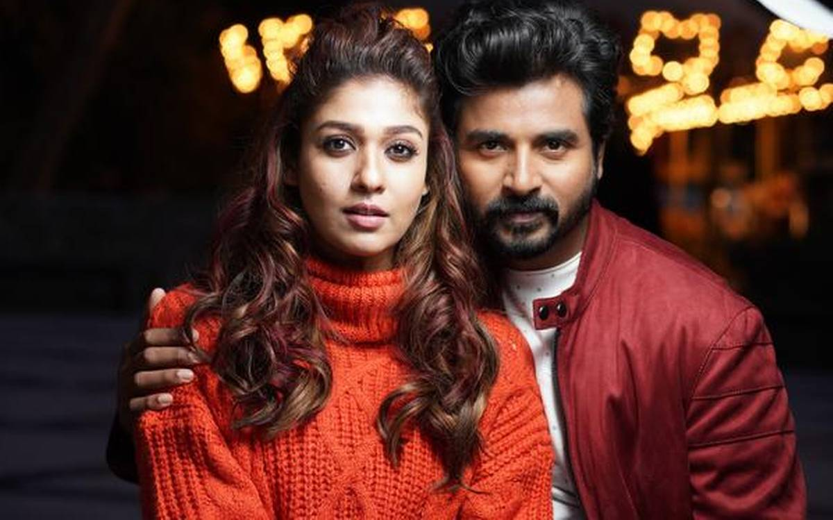 Nayanthara and Sivakarthikeyan in Mr.Local
