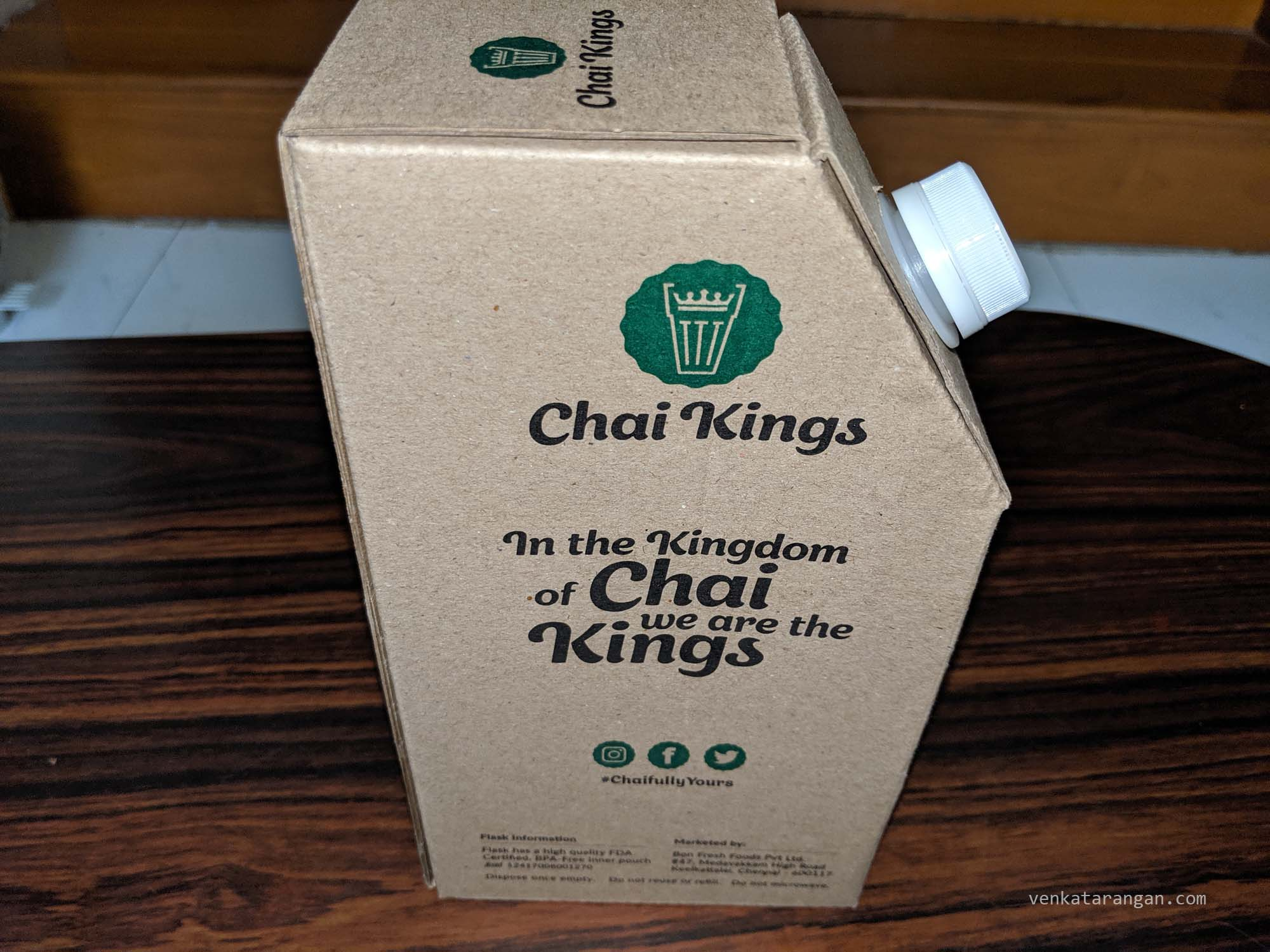Dum Chai from Chai Kings through Swiggy