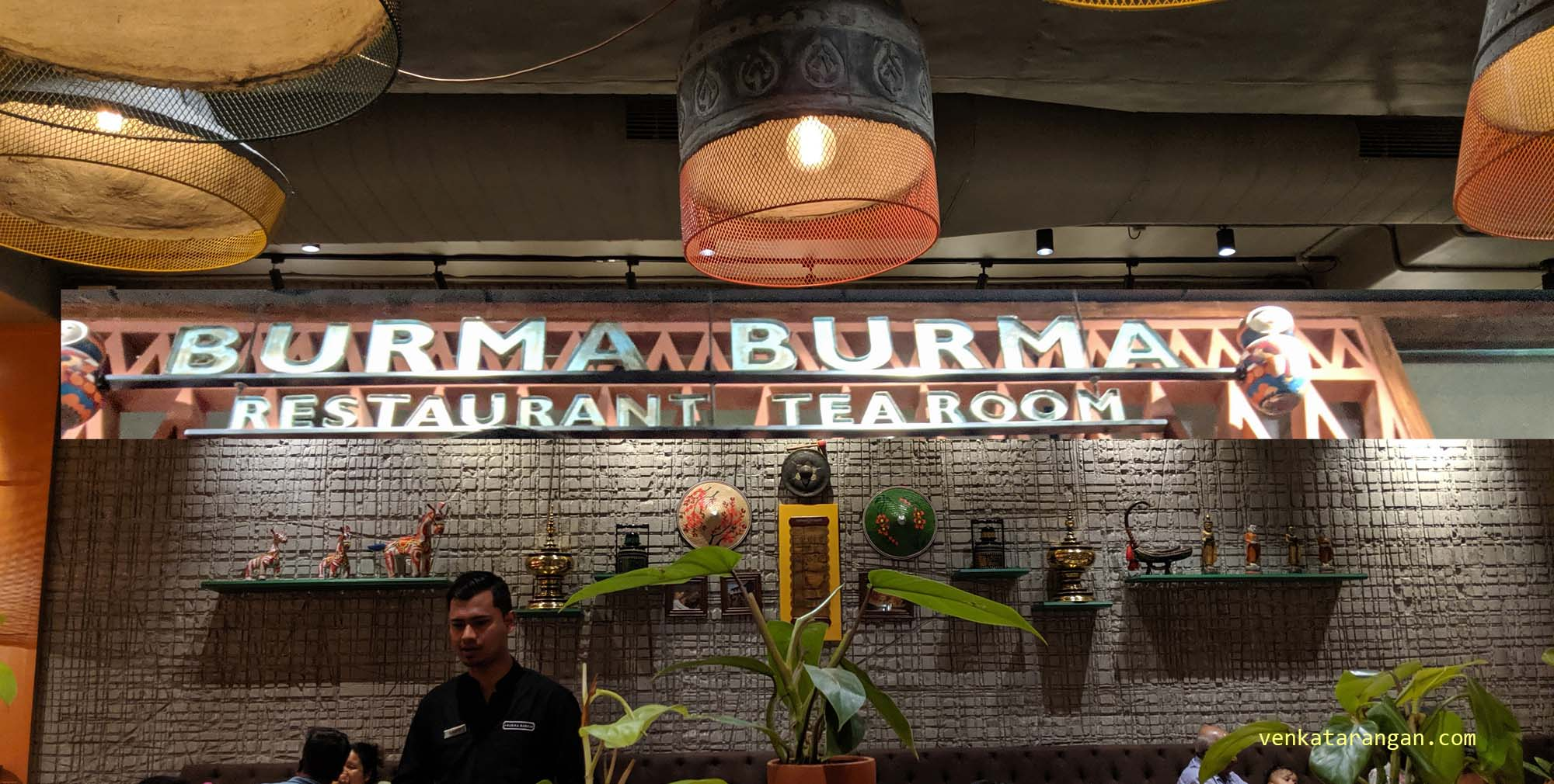 Burma Burma Restaurant, Indiranagar, Bengaluru