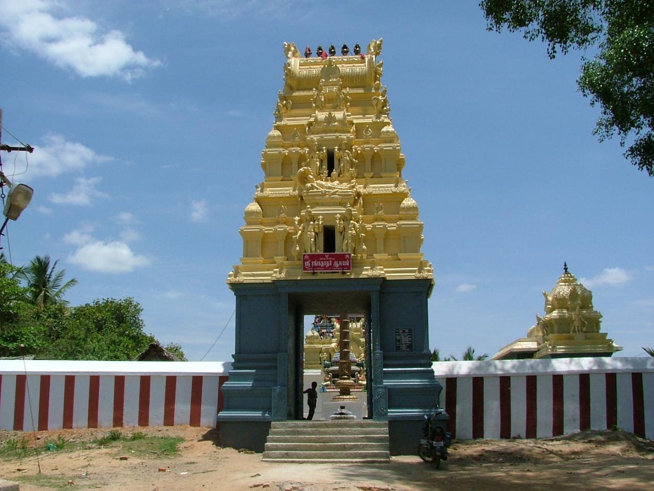 ஸ்ரீ ரங்கநாதர் ஆலயம், தேவதானம்,மீஞ்சூர்