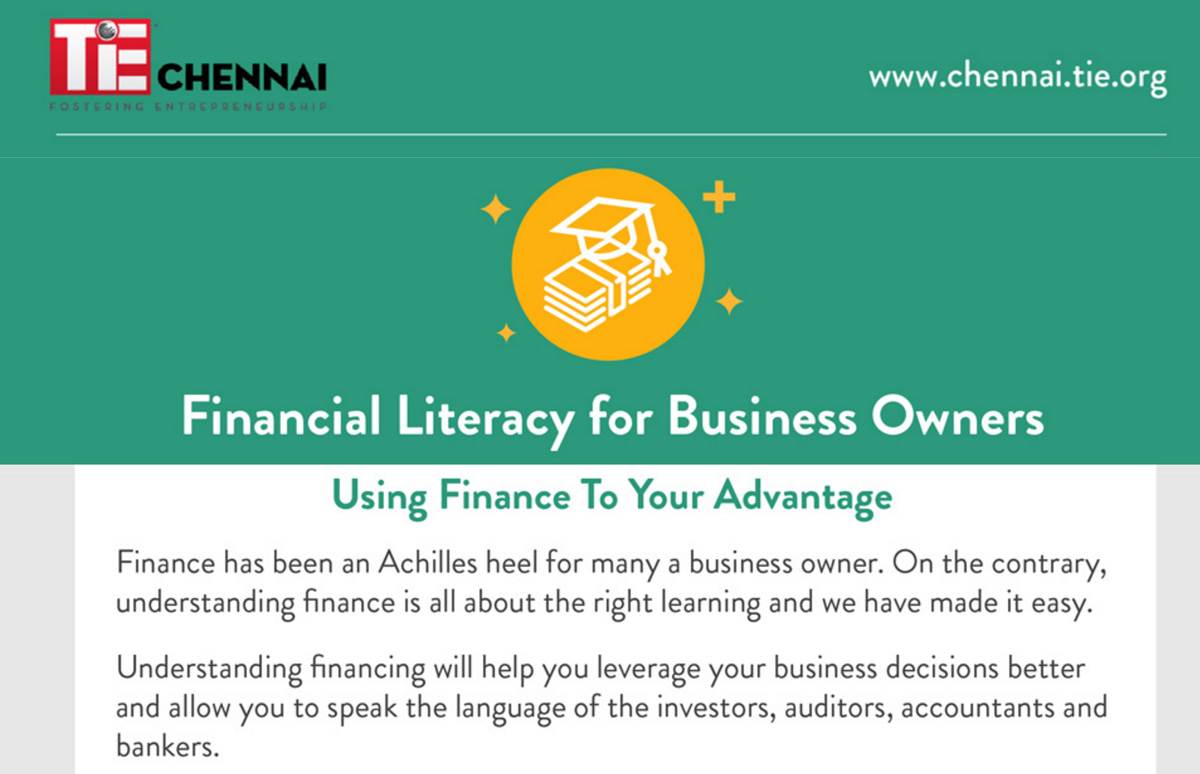 Financial Literacy for Business Owners - TiE Chennai