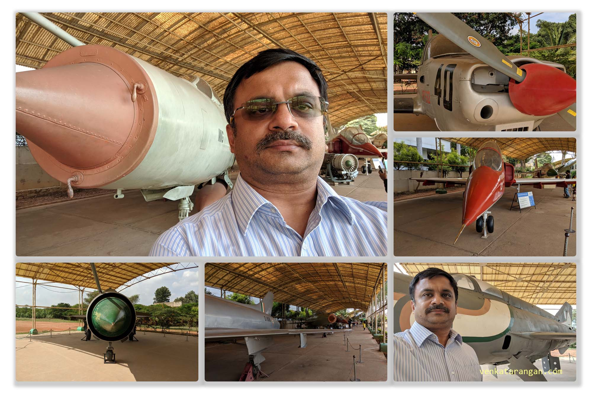 Various fighter jets including legendary MIGs - HAL Museum, Bangalore