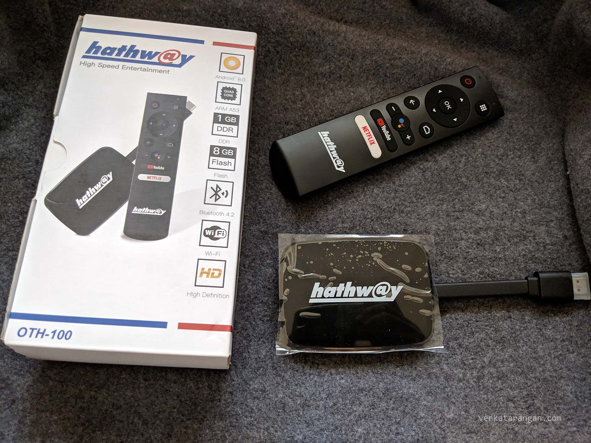 Hathway Play box running Android TV