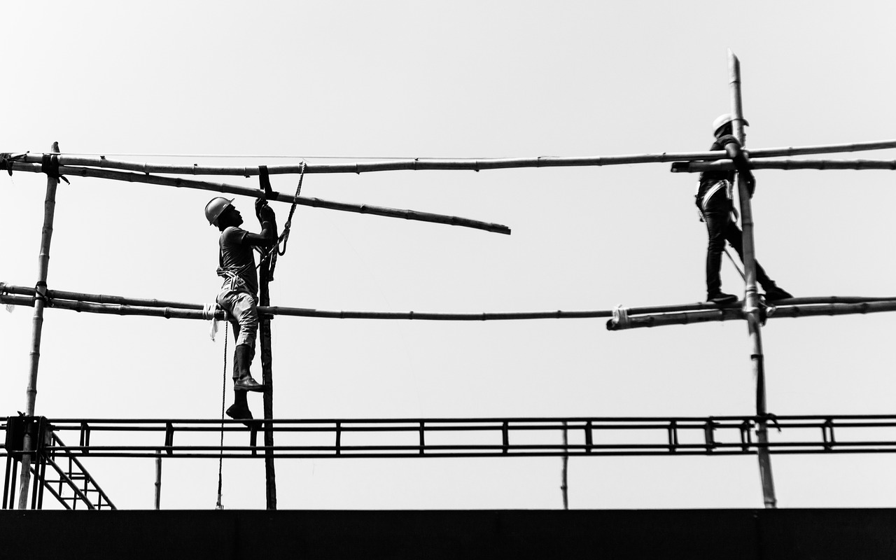 (Representative picture) Labourers working in a construction site