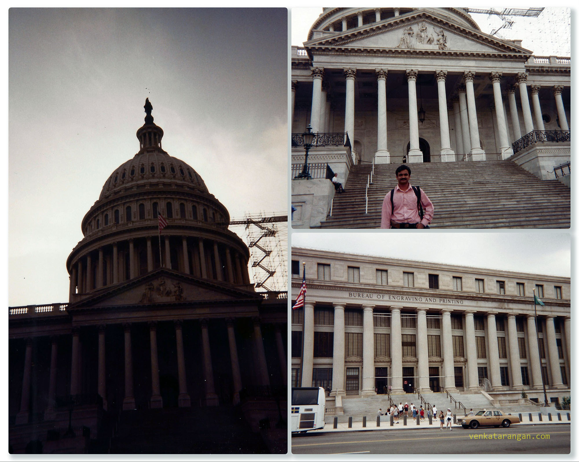 Capitol Hill, Bureau of Engraving and Printing, Washington D.C. in 1999
