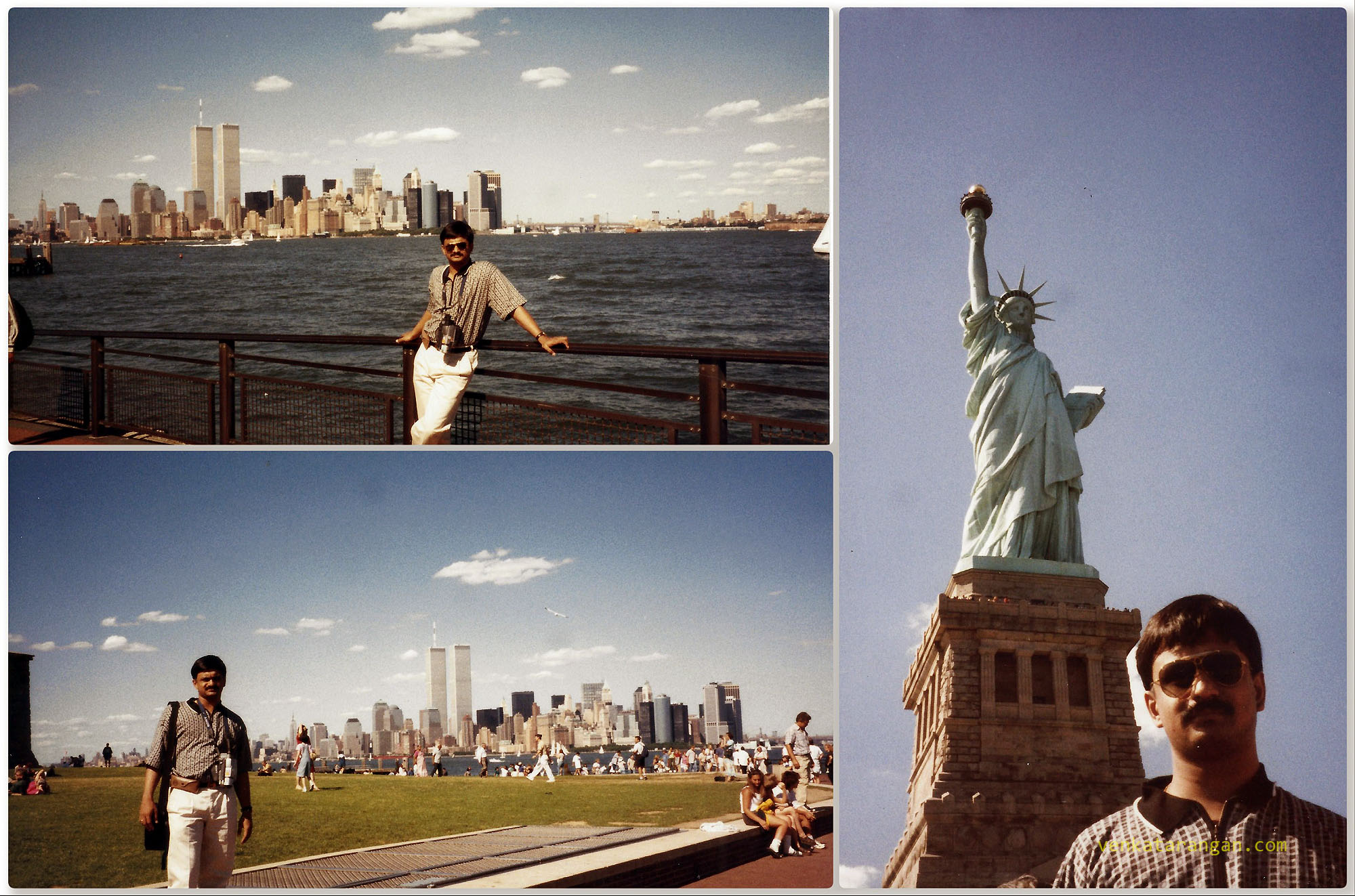 The Statue of Liberty, Liberty Island, New York Harbor in 1999