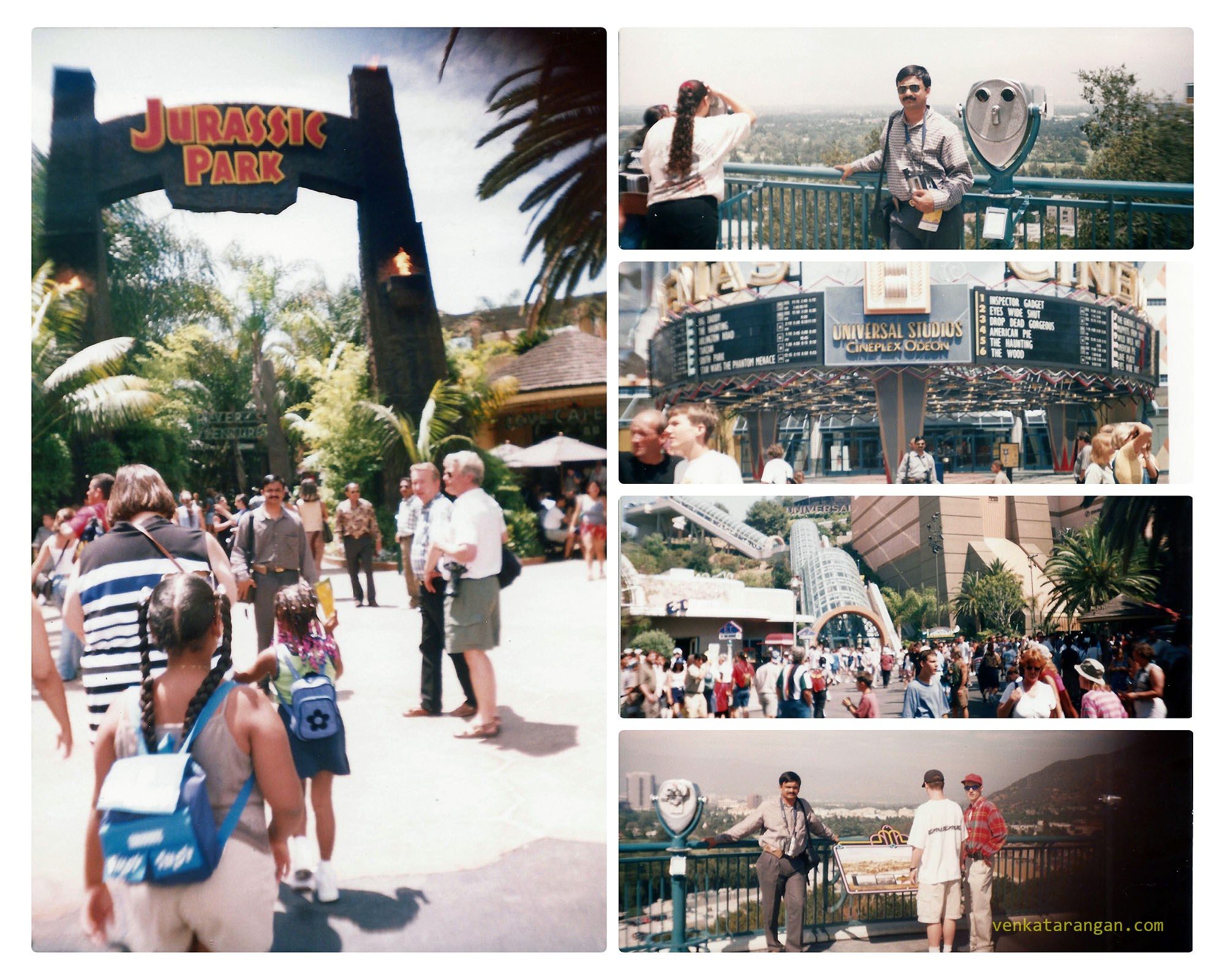 Universal Studios Hollywood, Los Angeles in 1999
