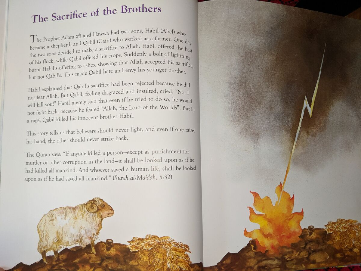 "One of the stories from the ""The Greatest Stories from the Quran""  -The sacrifice of the brothers"