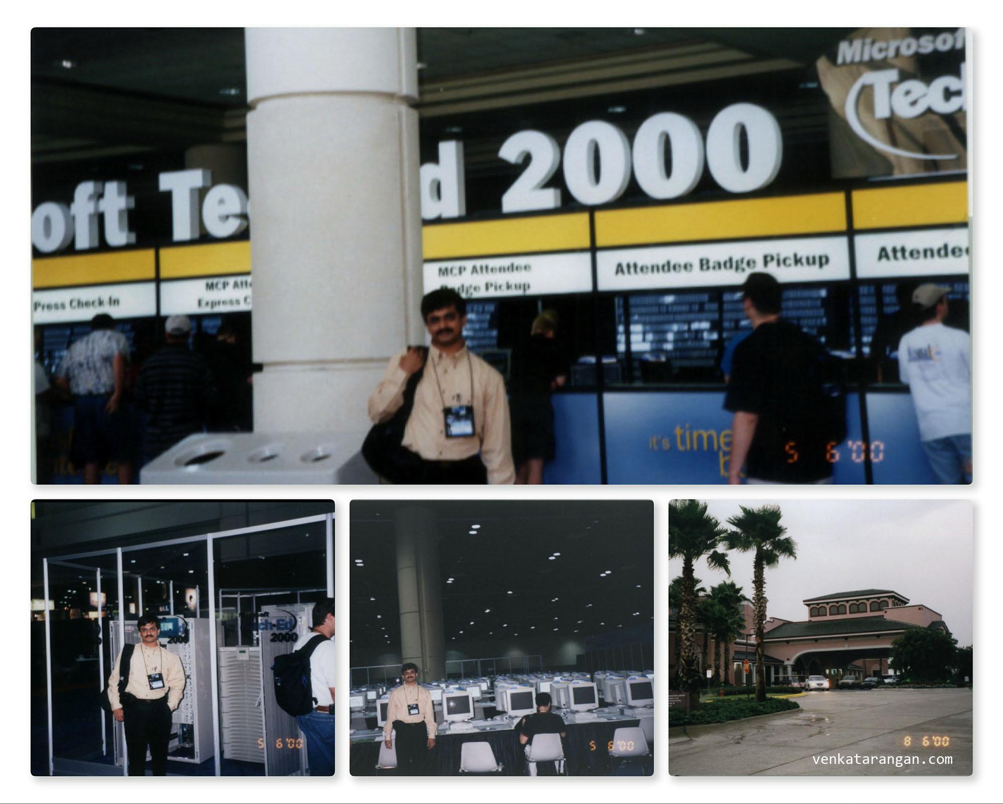 Microsoft TechEd 2000 in Orlando, FL, USA