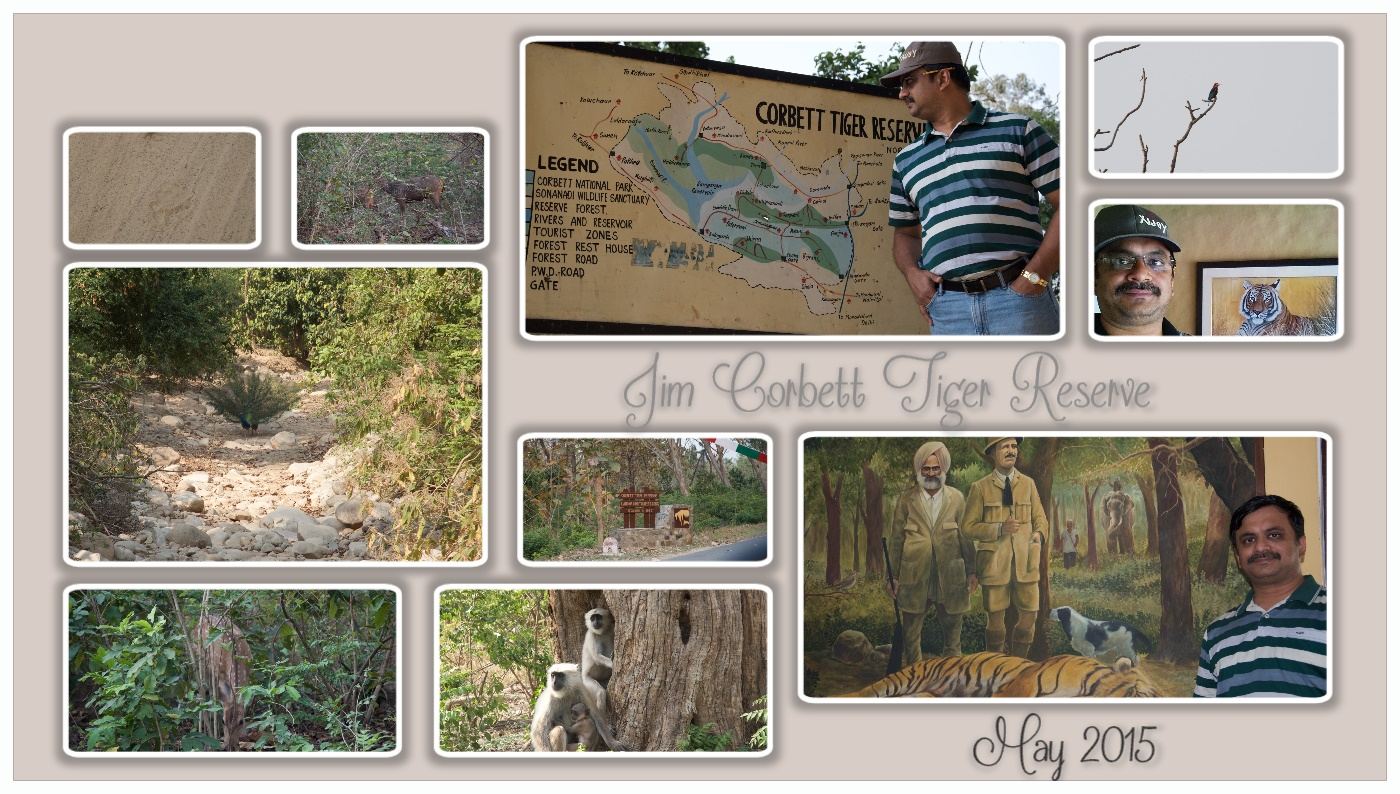 Venkatarangan visit to Jim Corbett National Park