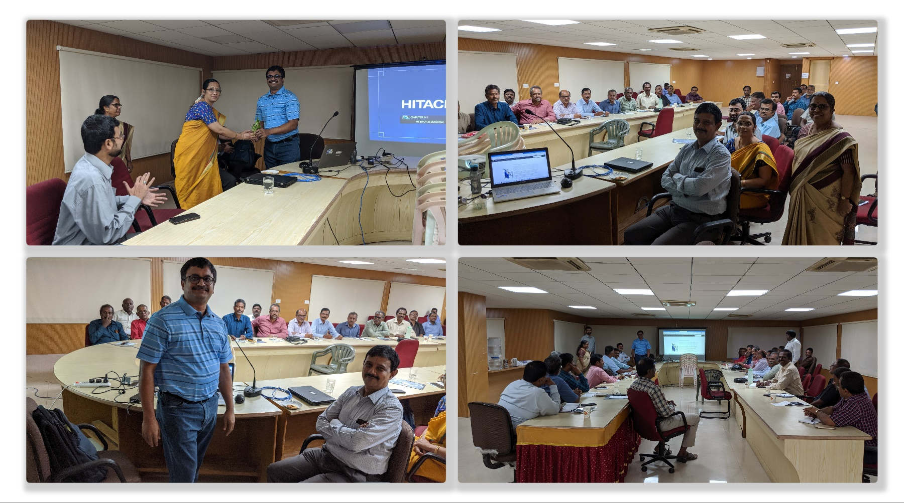 Presentation by Venkatarangan - 26th September 2019 - NIC, Rajaji Bhavan, Chennai