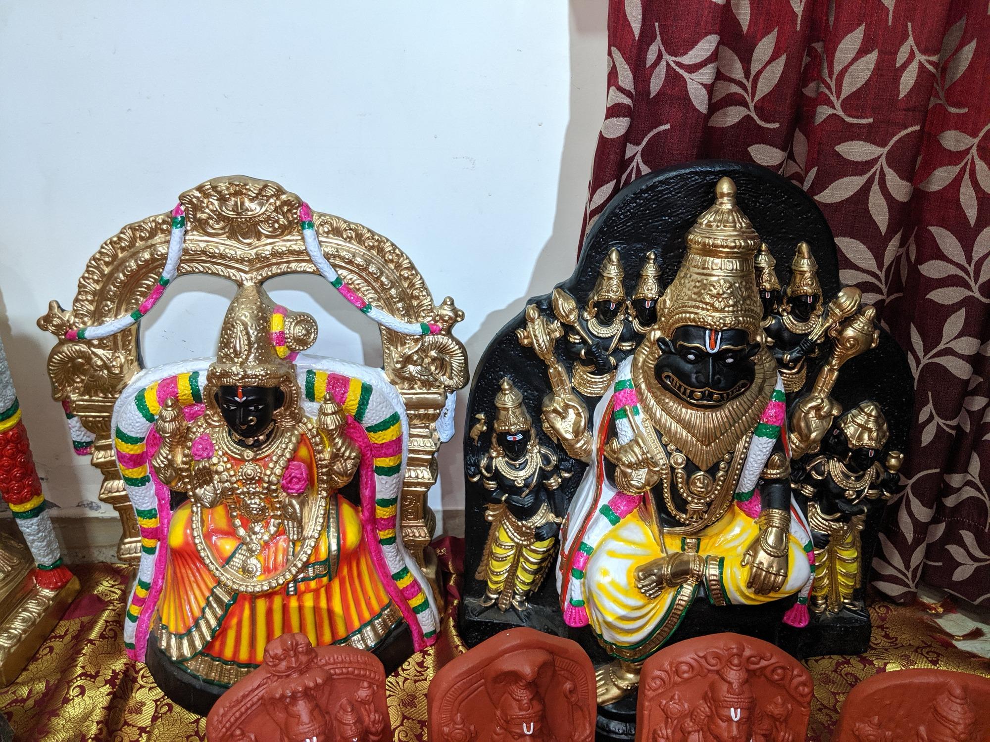 Sri Narasimhaswamy, Namakkal - ஸ்ரீ லட்சுமி நரசிம்மர், நாமக்கல்