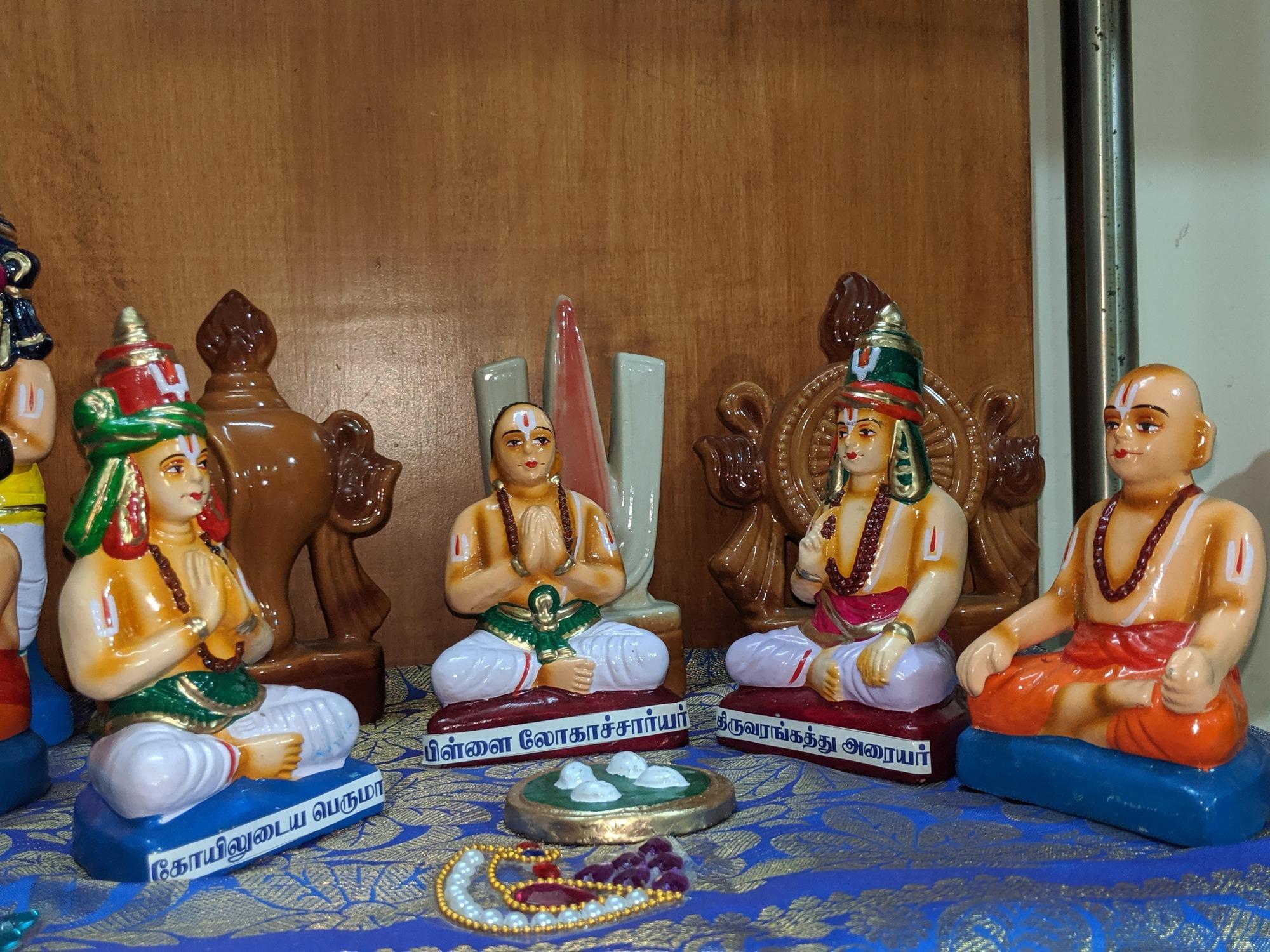 கோயிலுடைய பெருமாள், பிள்ளை லோகாச்சார்யர், திருவரங்கத்து அரையர்
