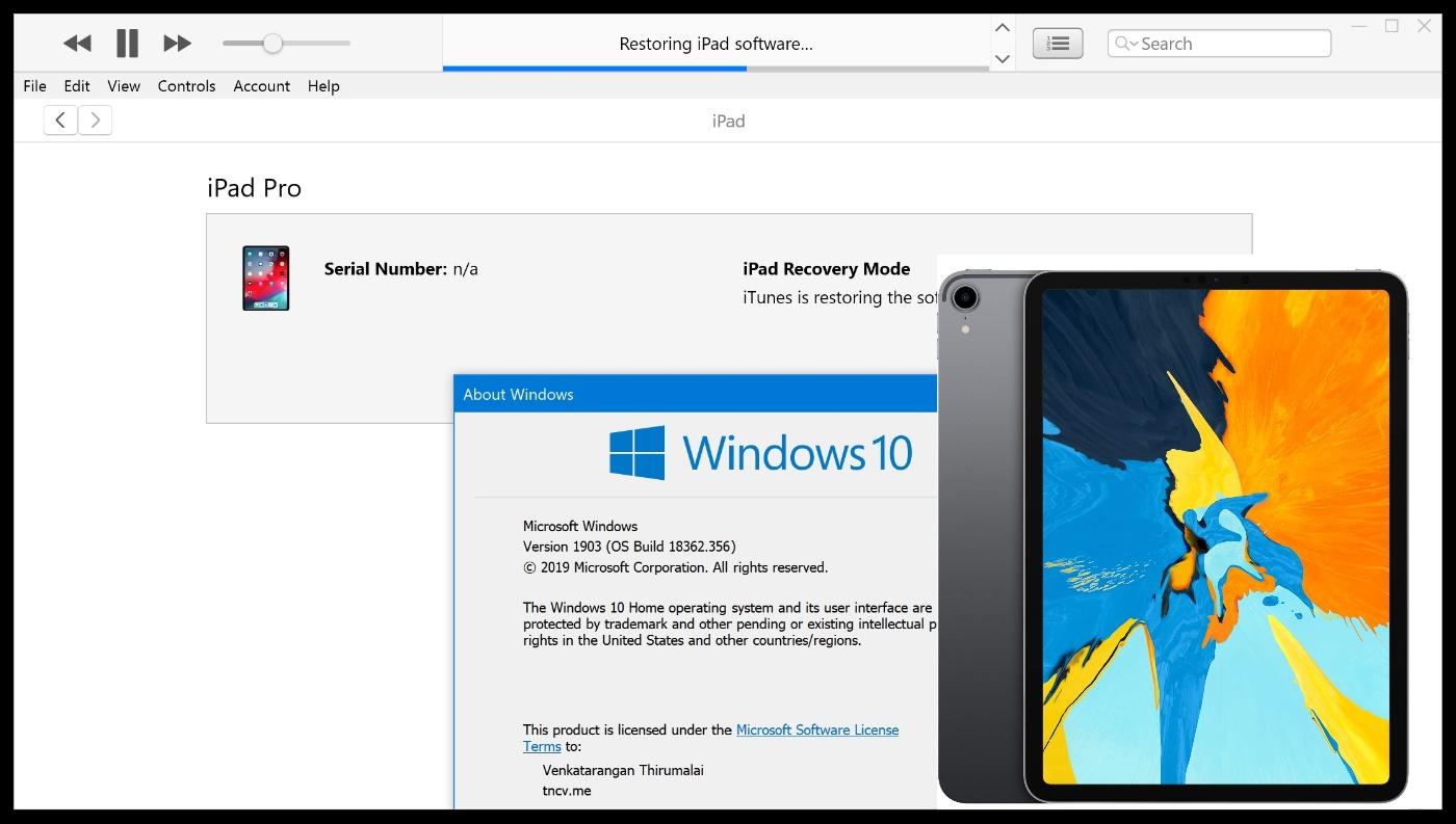 iPad Pro 2018 - Forgot Passcode