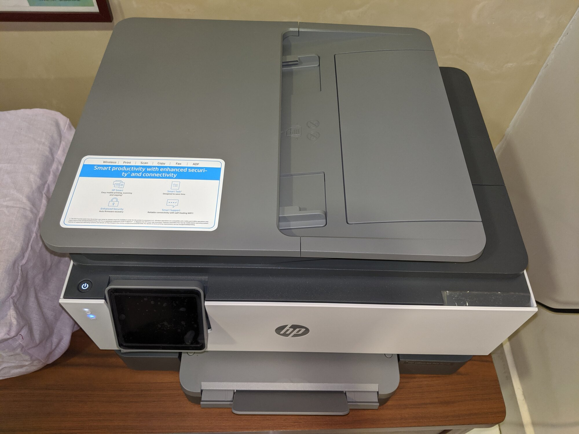 The 'naked' HP OfficeJet Pro 9010
