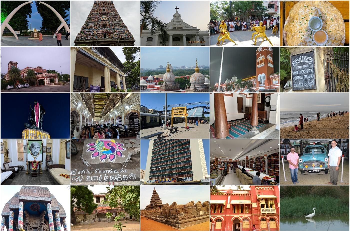 Sights of Chennai City