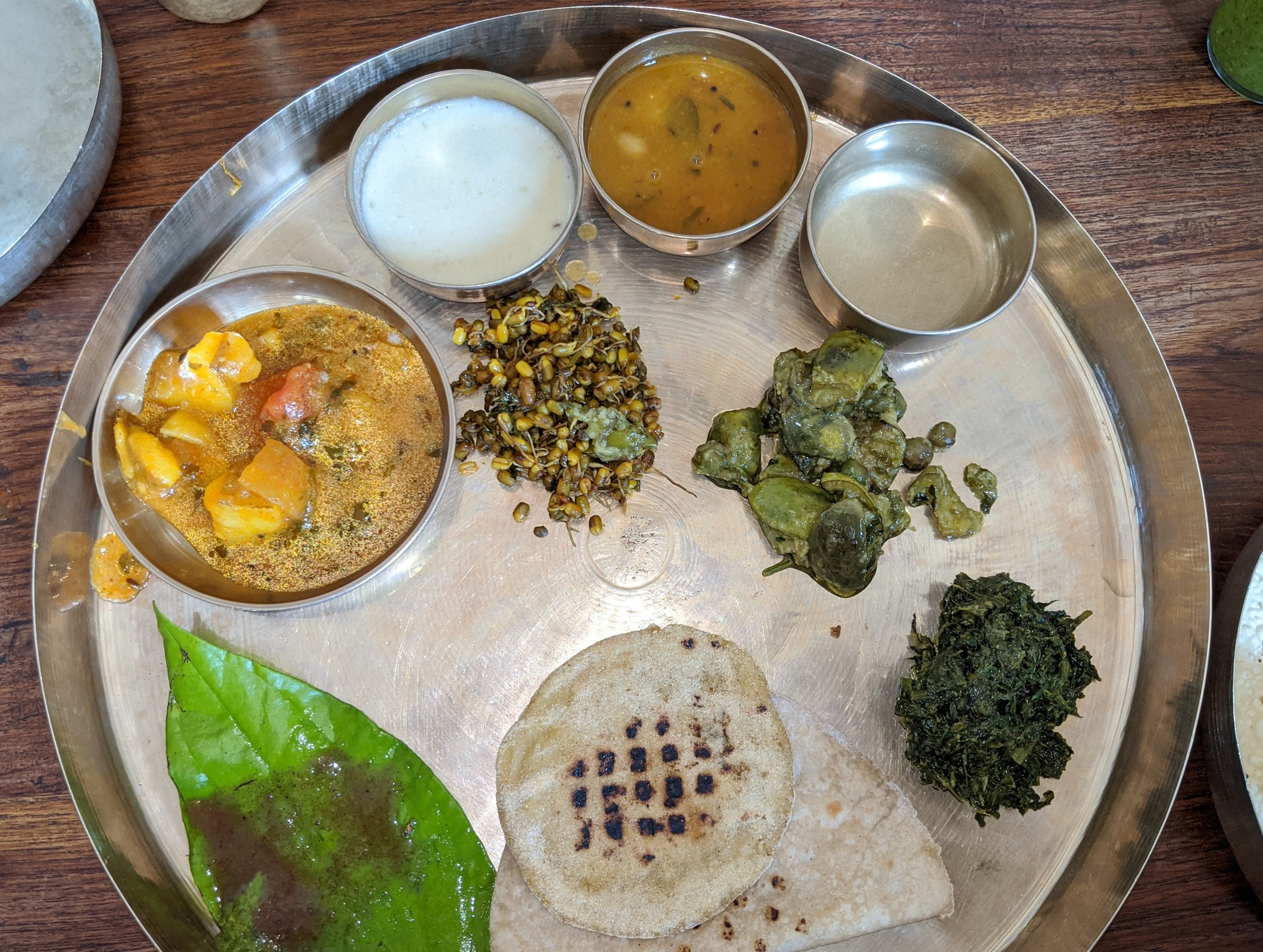 Gujarati Vegetarian Thali