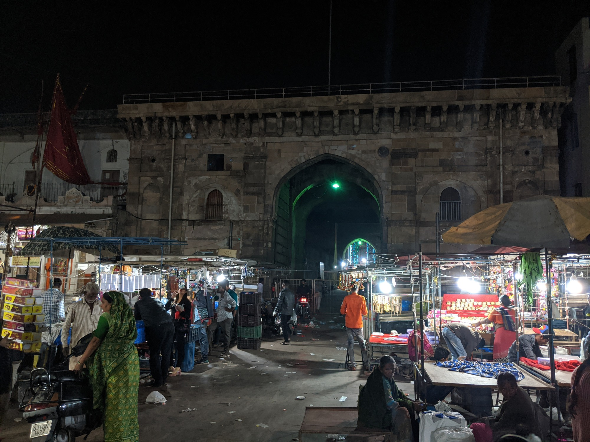 Bhadra Fort is situated in the walled city area of Ahmedabad, India. It was built by Ahmad Shah I in 1411.