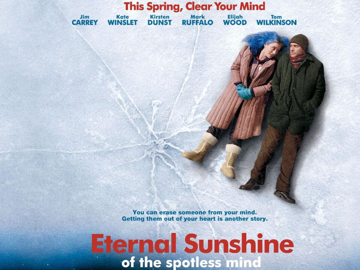 Eternal Sunshine of the Spotless Mind is a 2004 American romantic science fiction tragicomedy film